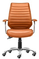 Bronx Dariel Conference Chair Ivy Upholstery Color: Terracotta
