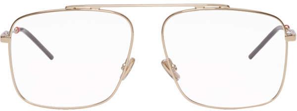 Christian Dior Gold Dior0220 Glasses