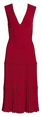 Altuzarra Women's V-Neck Knit Dress