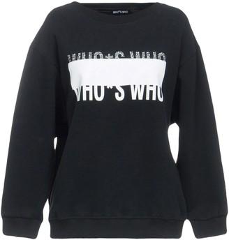 Who*s Who WHOS WHO Sweatshirts