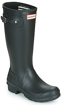 Hunter Kids girls's Wellington Boots in Black