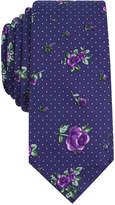 Bar III Men's Jacana Floral Skinny Tie, Created for Macy's