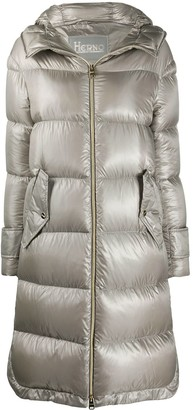 Herno Feather-Down Quilted Coat