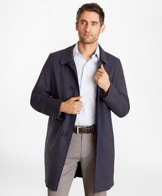 Brooks Brothers Reversible Single-Breasted Trench Coat
