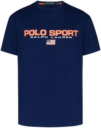 Polo Ralph Lauren Sport logo-print T-shirt