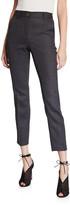 Dolce & Gabbana Wool Pinstriped Slim-Leg Pants