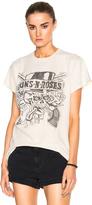 Madeworn Guns N' Roses Tee in White.