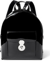 Ralph Lauren Patent Leather Ricky Backpack