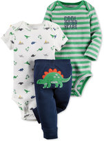 Carter's Baby Boys' 3-Pc. Dinosaurs Bodysuits & Pants Set