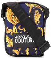 Versace baroque print messenger bag