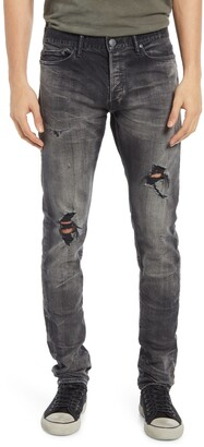 John Elliott The Cast 2 Distressed Slim Fit Jeans