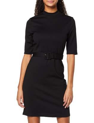Only Women's Onlfreja 3/4 Belted Dress JRS Party Black 12 (Size: Medium)