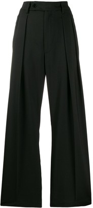 Barena High-Waisted Palazzo Trousers