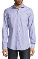 Pal Zileri Fine Striped Long-Sleeve Shirt