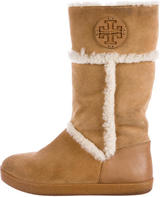 Tory Burch Amelie Shearling Boots