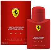 Ferrari Red By For Men. Eau De Toilette Spray 2.5 Ounces