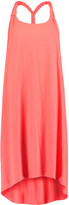 Heidi Klein Cotton and modal-blend jersey coverup