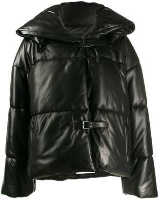 Barbara Bui buckled padded jacket