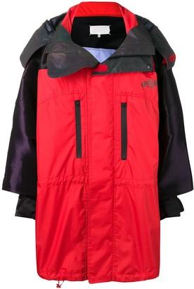 Maison Margiela Waterproof Two-Tone Coat