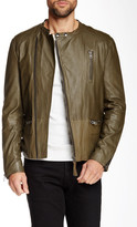 Mackage Ruben Genuine Lamb Leather Moto Jacket