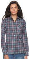 Woolrich Women's Tall Pine Plaid Flannel Shirt