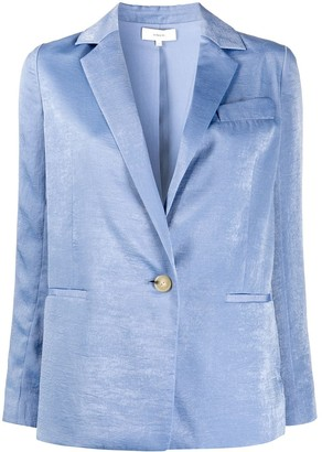 Vince Satin Tailored Blazer