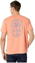 Billabong Treesnake Long Sleeve T-Shirt (Coral) Men's Clothing