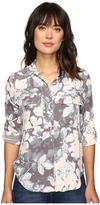 Calvin Klein Jeans Muted Utility Printed Long Sleeve Woven Shirt