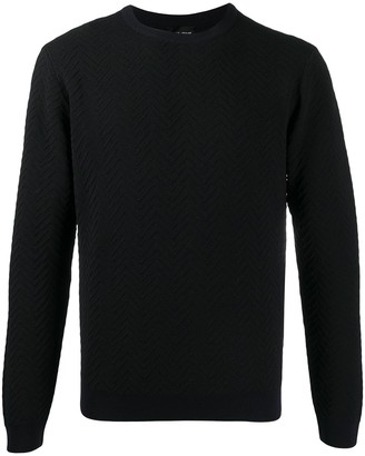 Giorgio Armani Textured Knit Jumper