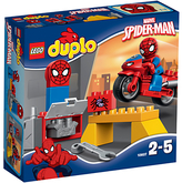 Lego DUPLO Spider-Man Web Bike Workshop Set