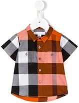Burberry plaid shirt - kids - Cotton - 6 mth