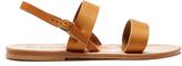 K. Jacques Barigoule leather sandals