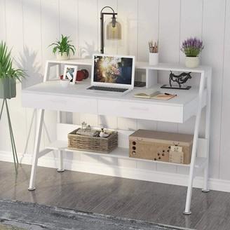 George Oliver Louison Desk Color: White