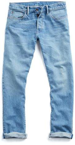 Todd Snyder Made in L.A. Selvedge Natural Indigo Jean