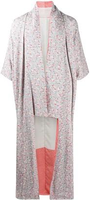 A.N.G.E.L.O. Vintage Cult 1990s Bird Pattern Kimono Coat