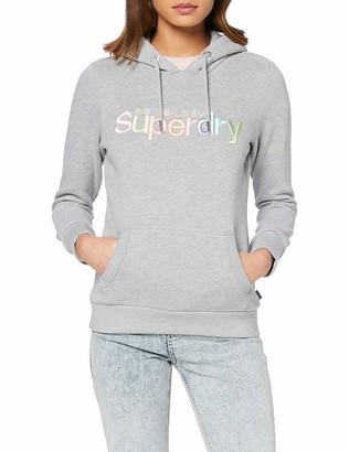 Superdry Women's Classic Rainbow Emb Entry Hood Hoodie
