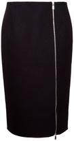 Michael Kors zip-up skirt