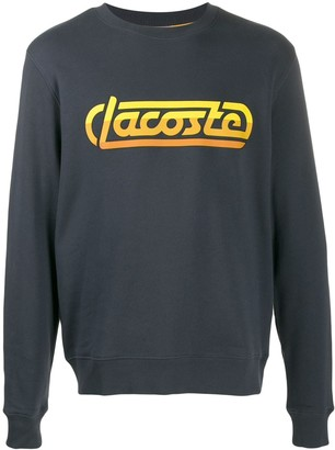 Lacoste Live printed logo sweater