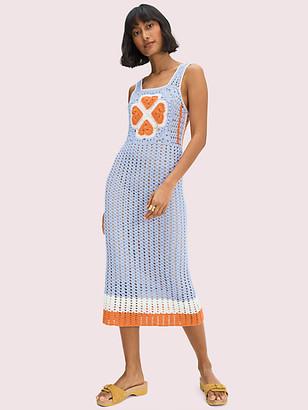 Kate Spade Spade Flower Crochet Dress