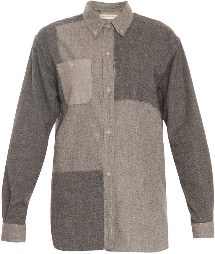Etoile Isabel Marant Paden Cotton Patch Shirt