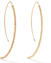 Mizuki 14-karat Gold Earrings - one size