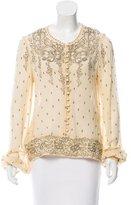 Etoile Isabel Marant Printed Silk Blouse