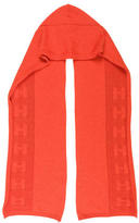 Hermes Cashmere Hooded Scarf