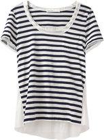 Luck / Striped Short Sleeve Tee