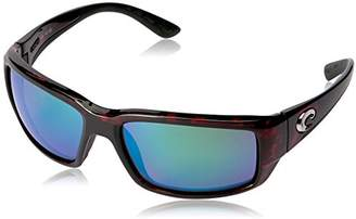 Costa del Mar Unisex-Adult Fantail TF 10 OGMGLP Polarized Iridium Rectangular Sunglasses