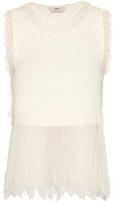 Edun Fringed-edge sleeveless top