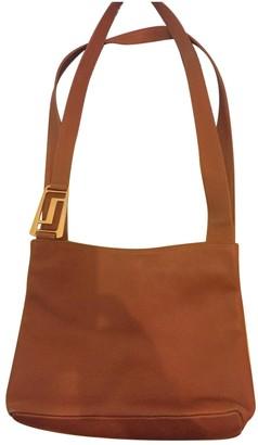 Lancel Camel Leather Handbags