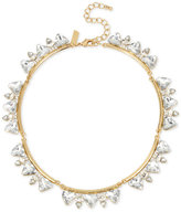 INC International Concepts M. Haskell for Gold-Tone Crystal Triangles Collar Necklace, Only at Macy's
