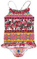 Dolce & Gabbana Mambo print swimsuit - kids - Polyamide/Spandex/Elastane - 2 yrs