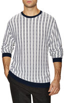 3.1 Phillip Lim Striped Crewneck Sweater